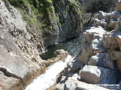 Azud del Mesto - Cascada del Hervidero;lagunas de peñalara viajes de autor gr 48